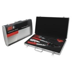 Coffret ARS : sécateur VS-8Z, scie GR-17, ébrancheur LP-33S, produit