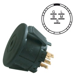 Contact a cle adaptable a AYP 175567 adaptable a John deere AM122881