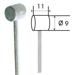 Câble embrayage 25/10 tambour