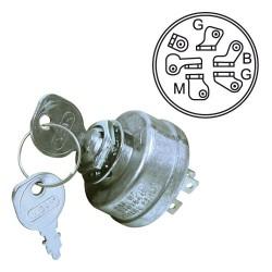 Contacteur à clef pour Ariens 03602300, John Deere AM38227