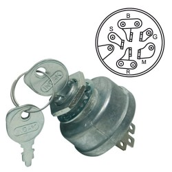 Contacteur à clef AYP 14615 - 73232