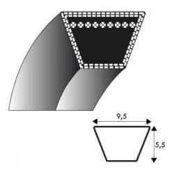Courroie kevlar 3L650