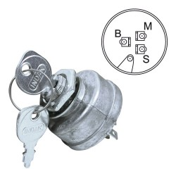 Contacteur à clef pour Snapper 18816