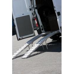 Rampes de levage pliable 900 Kg (avec pieds)