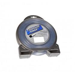 Fil titanium rond 2.5mm - 81m