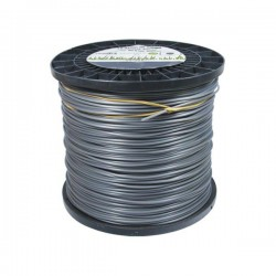 Bobine fil nylon rond (2.0 kg) ø : 2.4 mm - 390 m