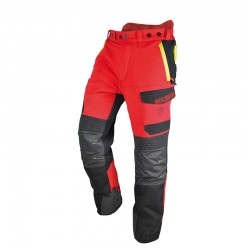 Pantalon Anti-Coupure INFINITY Taille XL Rouge