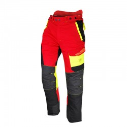 Pantalon Anti-Coupure COMFY Taille XXL Rouge