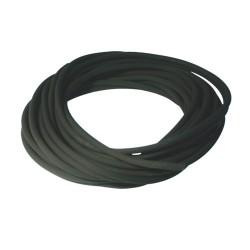 Durite caoutchouc noire ø : 3 mm. long.  : 10 m rempl. universel