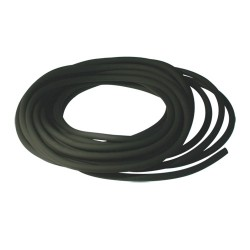 Durite caoutchouc noire ø : 5 mm. long.  : 10 m rempl. universel