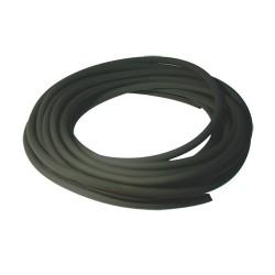 Durite caoutchouc noire ø : 6 mm. long.  : 10 m rempl. universel