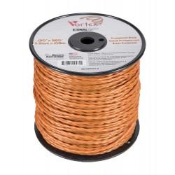 Fil Nylon Vortex Alu 3,3 mm 109 m orange