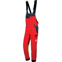 SALOPETTE AUTHENTIC rouge - Taille XL