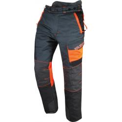 Pantalon Anti-Coupure COMFY Taille L Gris/Orange