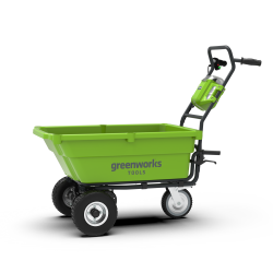 Chariot brouette de jardin Greenworks 40V